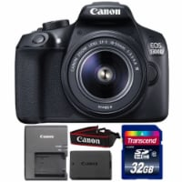 Canon Eos 1300d/t6 Digital Slr Camera With 18-55mm Lens And 32gb Memory Card - 1