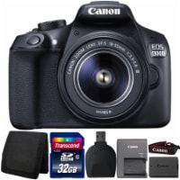 Canon Eos 1300d/t6 18mp Dslr Camera With 18-55mm Lens And Accessories - 1