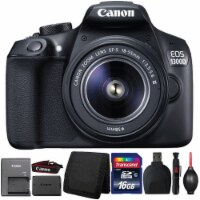 Canon Eos 1300d/t6 Dslr Camera With 18-55mm Iii Lens And Accessories - 1