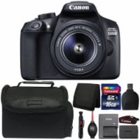Canon Eos 1300d/t6 Dslr Camera With 18-55mm Iii Lens And Accessory Kit - 1