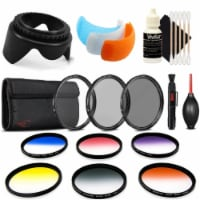 52mm Color Filter Kit With Accessory Kit For Nikon D7200 , D5600 And D5300 - 1