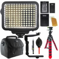 Vivitar 120 Led Light With Accessory Kit For Cameras And Camcorders - 1