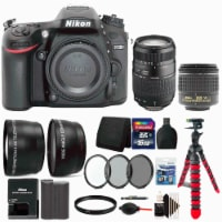 Nikon D7200 Dslr Camera With 18-55mm Lens, 70-300mm Lens And Accessory Kit - 1
