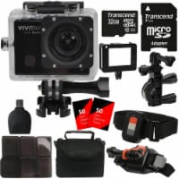 Vivitar Sports And Action Camera 16mp 4k Video 1440p Wifi Waterproof Camcorder