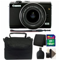 Canon Eos M100 Mirrorless Digital Camera With 15-45mm Stm Lens And Accessory Kit - 1