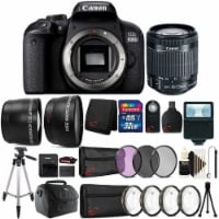 Canon Eos 800d / T7i 24.2mp Digital Slr Camera With 18-55mm Lens All You Need 32gb Kit - 1