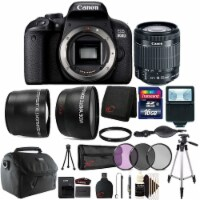 Canon Eos 800d 24.2mp Digital Slr Camera With 18-55 Is Stm Case, Tripod And More - 1