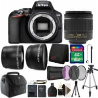 Nikon D3500 24.2mp Digital Slr Camera With 18-55mm Lens And All You Need Bundle - 1