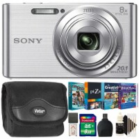 Sony Cybershot Dsc W830 Digital Camera With Kids Photo Editing Collection Kit - 1