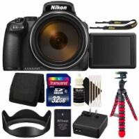 Nikon Coolpix P1000 Digital Camera + 32gb Card + Accessory Kit - 1