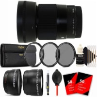 Sigma 30mm F1.4 Dc Dn Contemporary Lens For Sony E + 2.2x And .43x Converter Lenses + More - 1