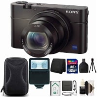 Sony Cyber-shot Dsc-rx100 Iii Built-in Wi-fi Digital Camera With Complete Starter Bundle - 1