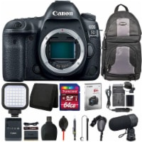 Canon Eos 5d Mark Iv Dslr Camera (body) + Battery Replacement & Charger + Kit - 1