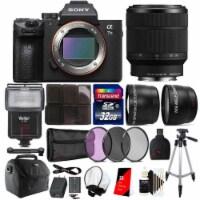 Sony Alpha A7 Iii Full Frame Mirrorless 24.3mp Digital Camera With Lens Bundle - 1