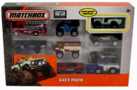 Matchbox 9-Car Gift Pack ( Exclusive National Parks Wilderness Ranger Vehicle) - 1