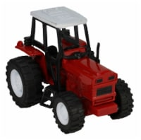 Red Die-Cast Farm Tractor, 1:32 Scale - 1