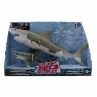 Deep Sea World 2 Pack Adult and Baby, Mako Shark - 1