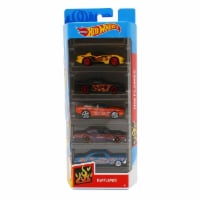 Hot Wheels 5 Pack, HW Flames - 1