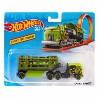 Hot Wheels Track Trucks, Caged Cargo