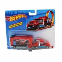 Hot Wheels Track Trucks, Hiway Hauler - 1