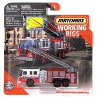 Matchbox Working Rigs Pierce Quantum Aerial Ladder Truck