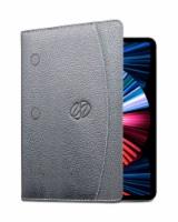 MacCase Leather 12.9  Gen 5 IPad Pro Folio Case - Black - 1 unit