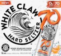 White Claw Clementine Hard Seltzer 6 Cans