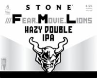 Stone Brewing Co. Fear Movie Lions IPA