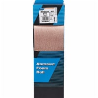 Norton Sanding Foam Pad Roll, Aluminum Oxide, 178 Sheets per Roll, 1 EA