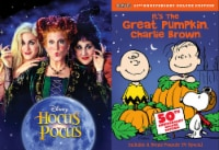 Halloween DVD 2 Pack: Hocus Pocus / It's The Great Pumpkin Charlie Brown