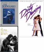 The Bodyguard / A Star is Born / Dirty Dancing DVD Bundle