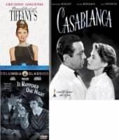 Breakfast at Tiffany's / It Happened One Night / Casablanca DVD Bundle