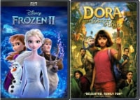 Frozen and Dora & The Lost City of Gold Kids DuoPack (DVD) - 1ct