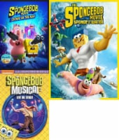 Spongebob: On the Run/ Musical Live/ Sponge out of Water KIds 3-Pack (DVD) - 1 ct