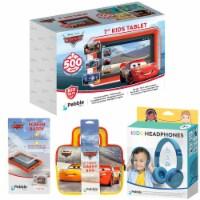 Pebble Gear™ Cars Kids Tablet Bundle - 4 pc