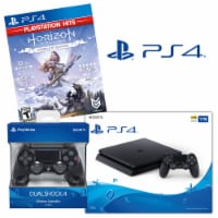 Sony PlayStation 4 System with Horizon Zero Dawn Game & DualShock 4 Wireless Controller