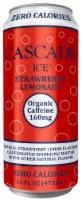 Cascade Ice Organic Strawberry Lemonade Caffeinated Sparkling Water