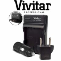 Vivitar Premium Mh-25 Replacement Battery Charger For En-el15 A / B / C Battery - 1