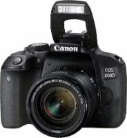 Canon Eos Rebel 800d / T7i 24.2mp Cmos Wifi Digic 7 Digital Slr With 18-55 Is Stm Lens Black - 1