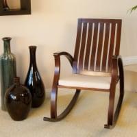 Worcester Brown Rocking Chair - 1 unit