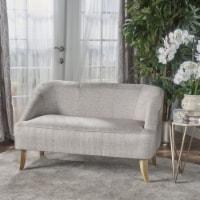 Jasper Mid Century Modern Fabric Loveseat