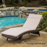Soleil Outdoor Water Resistant Chaise Lounge Cushion - 1 unit