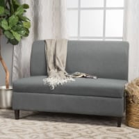 Toro Versatile Modern Fabric Storage Loveseat - 1 unit