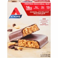 Atkins  Meal Bar Chocolate Peanut Butter 8 Count