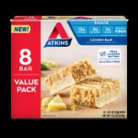 Atkins Lemon Snack Bars - 8 ct / 1.41 oz
