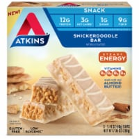 Atkins Snickerdoodle Snack Bars