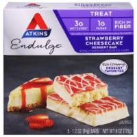 Atkins Endulge Strawberry Cheesecake Dessert Bars - 5 ct / 1.2 oz