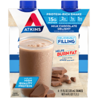 Atkins Milk Chocolate Delight Protein-Rich Shakes