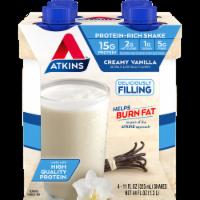 Atkins Creamy Vanilla Protein-Rich Shakes