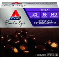 Atkins Endulge Chocolate Covered Almonds 5 Count